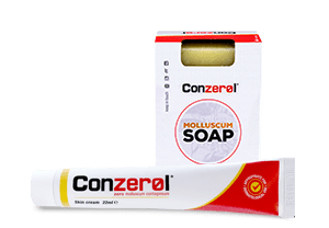 conzerol and soap